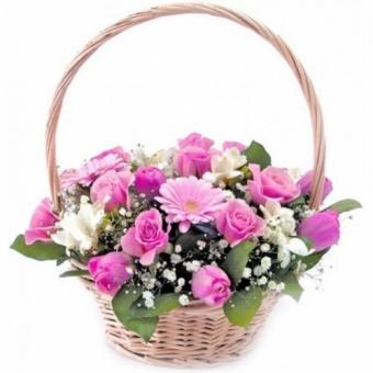 Корзины из цветов