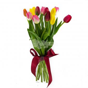 Букет из 13 Тюльпанов