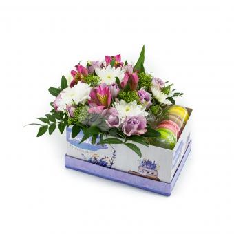 Цветы с печеньем