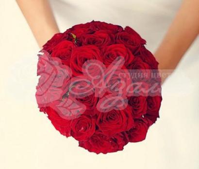 Букет из розы фридом 35 шт