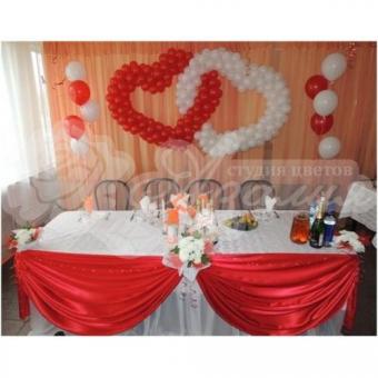 Оформление шарами на свадьбу «Комплект № 17»